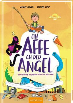 Ein Affe an der Angel. Fantastische Tiergeschichten aus der Stadt - Jonny Bauer  [Gebundene Ausgabe]