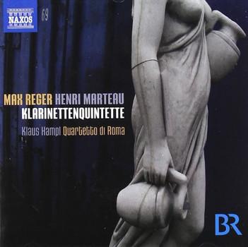 Klaus Hampl - Max REGER · Henri MARTEAU : Klarinettenquintette
