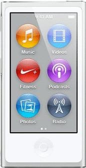 Apple iPod nano 7G 16 Go argent