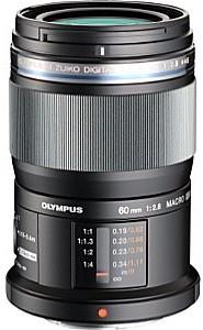 Olympus 60 mm F2.8 ED Macro 46 mm Objectif (adapté à Micro Four Thirds) noir