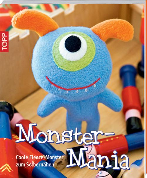 Monster-Mania: Coole Fleece-Monster zum Selbernähen - Fiona Goble
