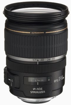 Canon EF-S 17-55 mm F2.8 IS USM 77 mm Obiettivo (compatible con Canon EF-S) nero