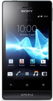 Sony Xperia Miro 4GB zwart