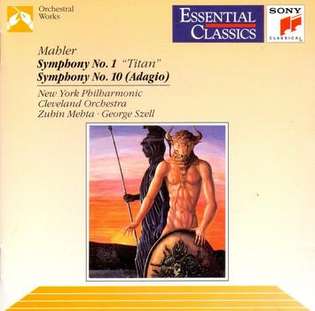 Gustav Mahler: Symphony No.1 - Titan, Symphony No.10 - Adagio