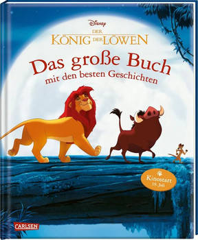 König der Löwen - Das große Buch mit den besten Geschichten - Disney  [Gebundene Ausgabe]