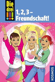 Die drei !!!, 1,2 3 Freundschaft! - Maja von Vogel  [Gebundene Ausgabe]