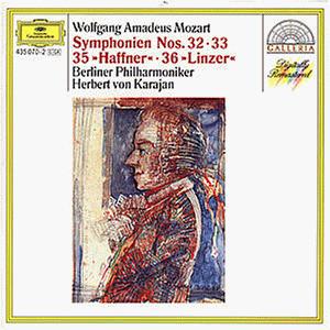 Karajan - Sinfonien 32,33,35,36