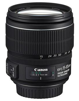 Canon EF-S 15-85 mm F3.5-5.6 IS USM 72 mm Objectif (adapté à Canon EF-S) noir