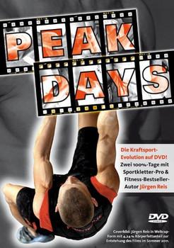 Peak-Days Der Film von Weltcupkletterer Jürgen Reis: Zwei 100%-Tage mit Jürgen Reis in Peak-Country