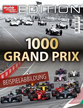 auto motor und sport Edition - 1000 Grand Prix [Taschenbuch]