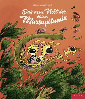 Das neue Nest der kleinen Marsupilamis - Benjamin Chaud  [Gebundene Ausgabe]
