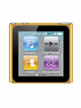 Apple iPod nano 6G 8GB naranja