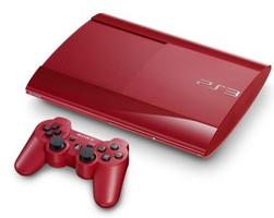 Sony PlayStation 3 super slim 500 GB [mando inalámbrico incluído] rojo