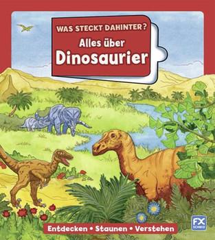 Was steckt dahinter? Alles über Dinosaurier - double-u gmbh  [Gebundene Ausgabe]