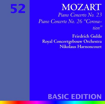 Gulda - Klavierkonzerte 23 & 26