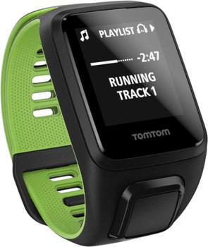 TomTom Runner 3 Cardio + Music Grande nero/verde
