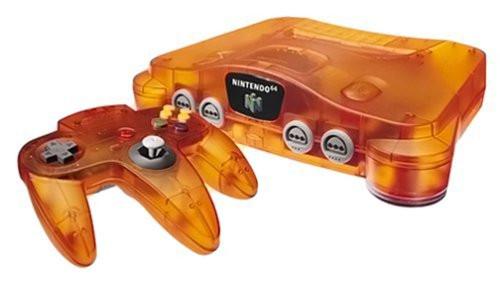 Nintendo 64 oranje
