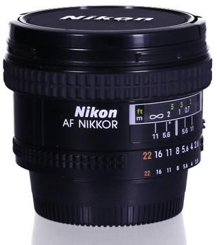Nikon AF NIKKOR 20 mm F2.8 62 mm Objectif (adapté à Nikon F) noir