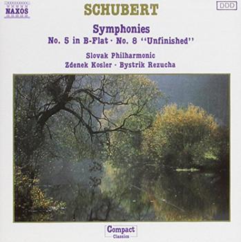 Franz Schubert - Symphonies 5 & 8