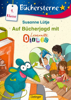 Auf Bücherjagd mit Otilie - Susanne Lütje  [Gebundene Ausgabe]