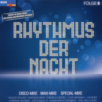 Various - Wdr4 Rhythmus der Nacht Vol.8