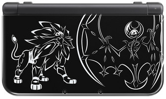 Nintendo New 3DS XL [Solgaleo et Lunala Limited Edition] noir