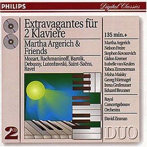 Martha & Friends Argerich - Duo Piano Extravaganza