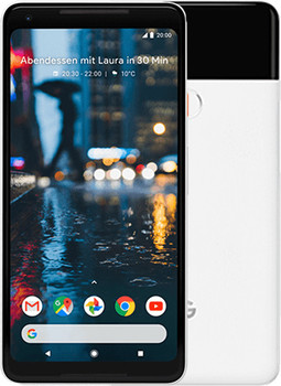 Google Pixel 2 XL 64GB bianco e nero