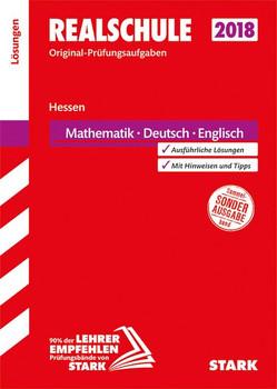 Abschlussprüfung Realschule Hessen - Mathematik, Deutsch, Englisch Lösungsheft [Taschenbuch]