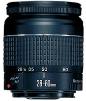 Canon 28-80 mm F3.5-5.6 USM 58 mm Objetivo (Montura Canon EF) negro