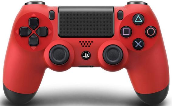 Manette sans fil Sony PS4 DualShock 4 rouge