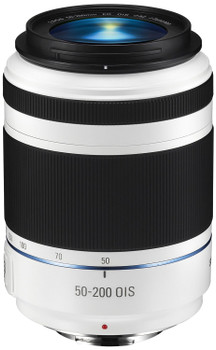 Samsung NX 50-200 mm F4.0-5.6 ED OIS III 52 mm Objectif (adapté à Samsung NX) blanc