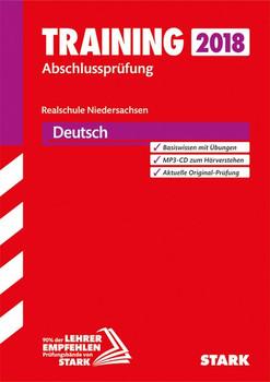 Training Abschlussprüfung Realschule Niedersachsen - Deutsch, mit MP3-CD [Taschenbuch]