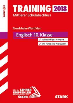 Lösungen zu Training Mittlerer Schulabschluss - Englisch - NRW [Taschenbuch]