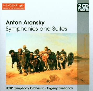 Evgeny Svetlanov - Two CD Twofer - Arensky (Sinfonien und Suiten)