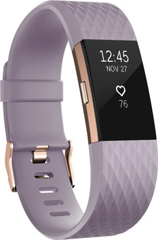 Fitbit Charge 2 (taille S) lavande or