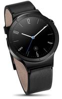 Huawei Watch Active 18 mm noir au bracelet en cuir noir [Wi-Fi]