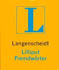 Langenscheidt Lilliput Wörterbücher, Bd.92, Fremdwörter - Ruth Fahrmair