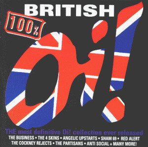 Various Oi! - 100 Procent British Oi!