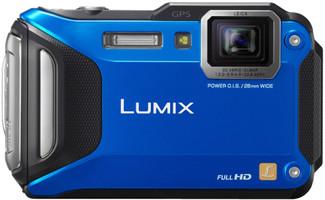 Panasonic Lumix DMC-FT5 blauw
