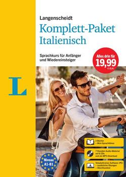 Langenscheidt Komplett-Paket Italienisch. Sprachkurs für Einsteiger und Fortgeschrittene [Taschenbuch]
