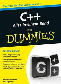 C++ Alles in einem Band für Dummies - John Paul Mueller [Taschenbuch]