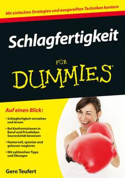 Schlagfertigkeit für Dummies (Fur Dummies) - Teufert, Gero
