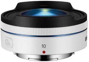 Samsung NX 10 mm F3.5 i-Function (geschikt voor Samsung NX) wit