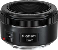 Canon EF 50 mm F1.8 STM 49 mm Objectif (adapté à Canon EF) noir