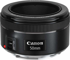 Canon EF 50 mm F1.8 STM 49 mm Objetivo (Montura Canon EF) negro