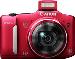 Canon PowerShot SX160 IS rojo