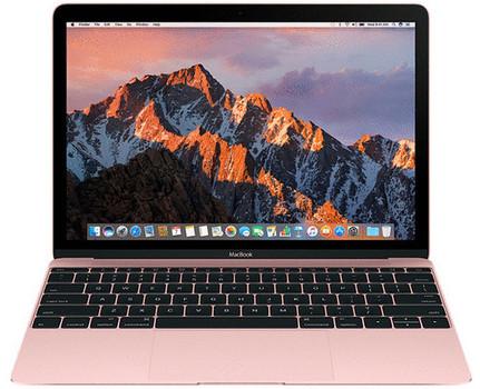 Apple MacBook 12 (retina-display) 1.2 GHz Intel Core M3 8 GB RAM 256 GB PCIe SSD [Mid 2017, QWERTY-toetsenbord] roségoud