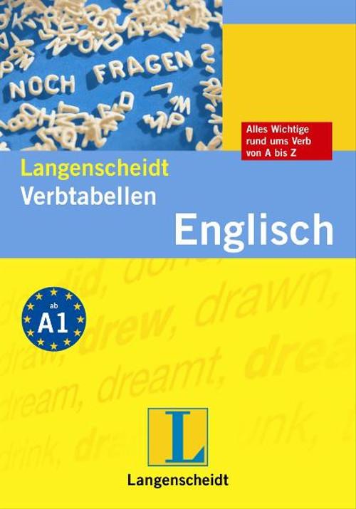 Langenscheidt Verbtabellen Englisch - Lutz Walther