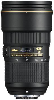 Nikon AF-S NIKKOR 24-70 mm F2.8E ED VR 82 mm Obiettivo (compatible con Nikon F) nero